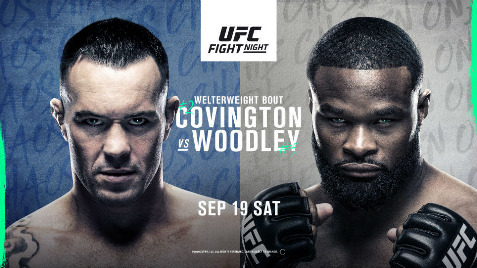 UFC Vegas 11 results - Covington vs. Woodley