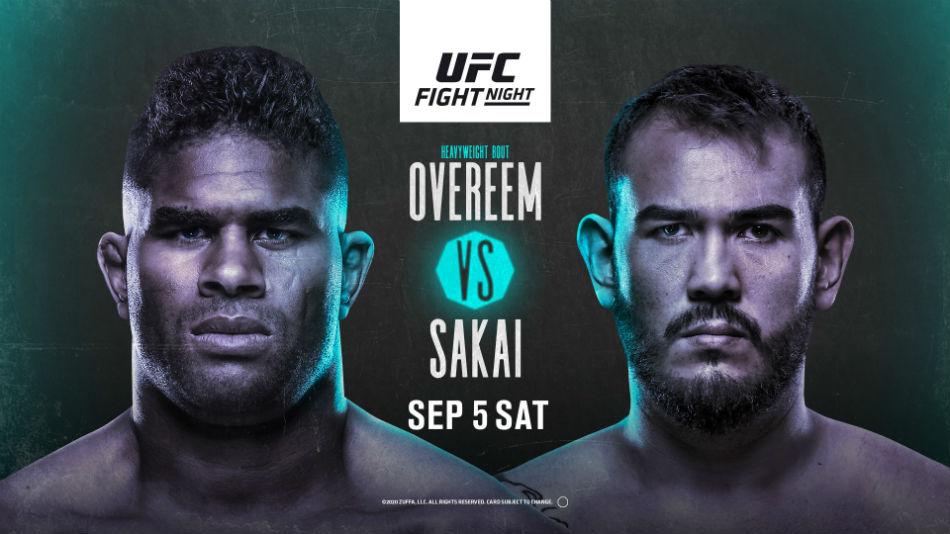 UFC Vegas 9 results - Overeem vs. Sakai