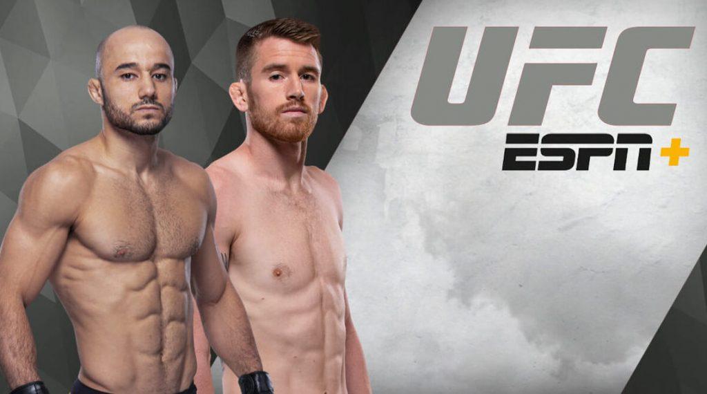 UFC Fight Island 5, UFC Fight Island 5 results