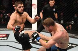 Khabib Nurmagomedov, UFC 254