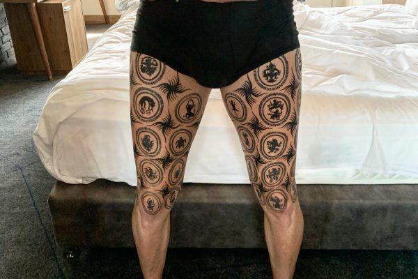 Dave Leduc tattoo htoe kwin