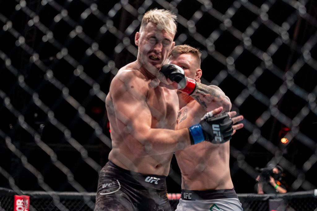 Jimmy Crute finishes Modestas Bukauskas in round one at UFC Fight Island 6