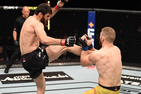 Magomed Ankalaev knocks Ion Cutelaba out in round one of rematch at UFC 254