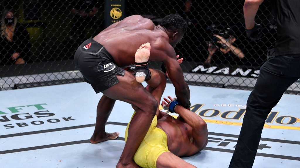 Uriah Hall finishes Anderson Silva in 4, UFC Vegas 12