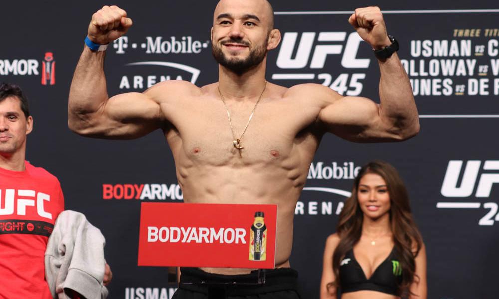 UFC Fight Island 5 weigh-in results - Moraes vs. Sandhagen