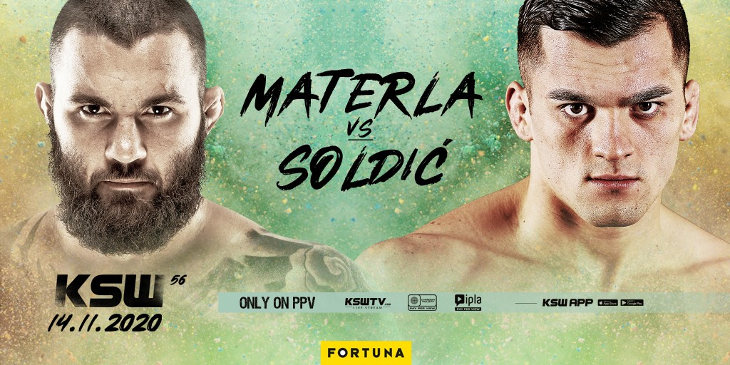 Roberto Soldic moves to middleweight, meets Michal Materla in KSW 56 Main Event