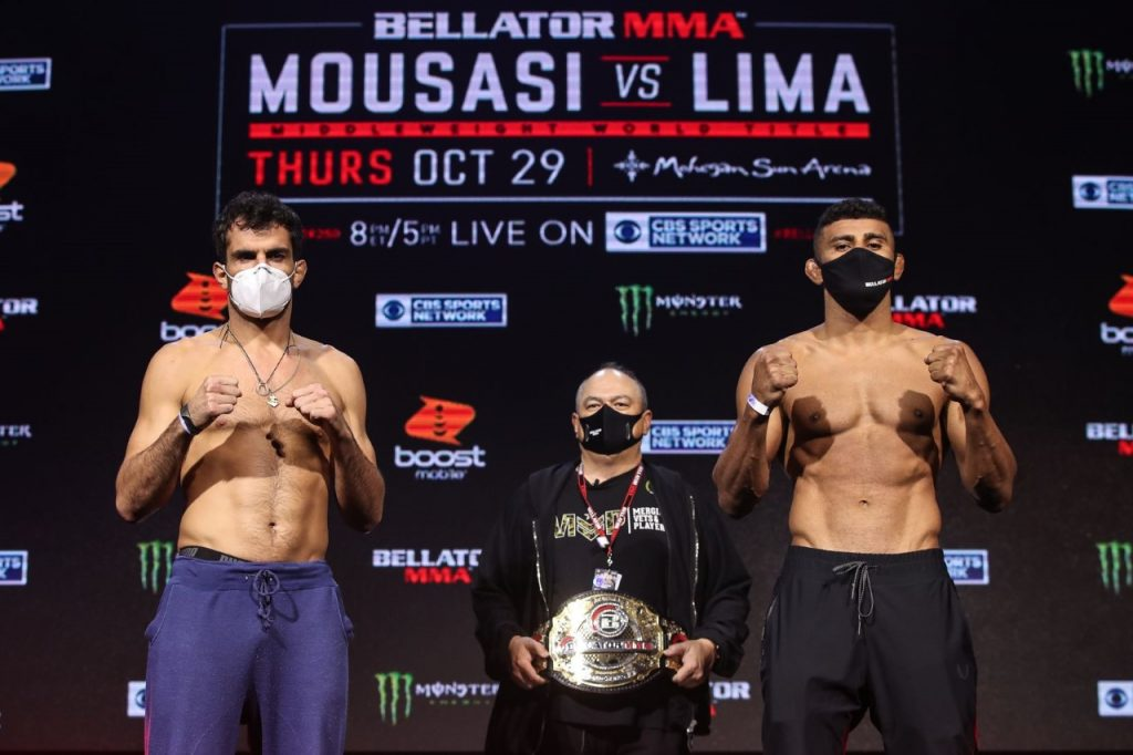 Bellator 250 weigh-in results - Mousasi vs. Lima