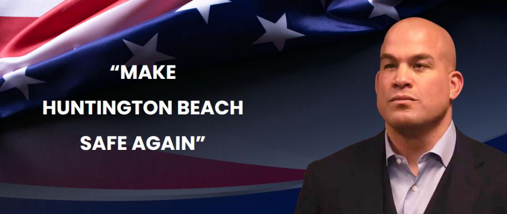Tito Ortiz running for Huntington Beach City Council