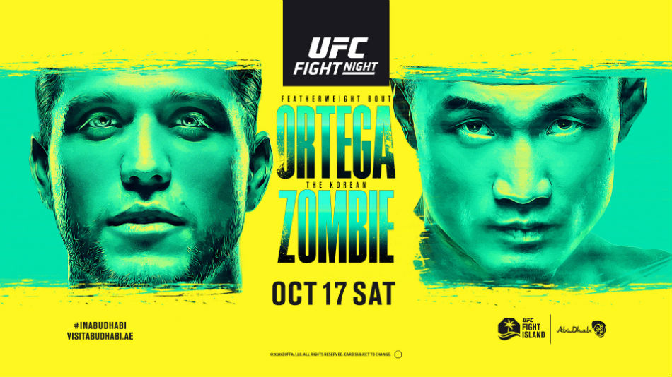 UFC Fight Island 6 results - Ortega vs. Korean Zombie