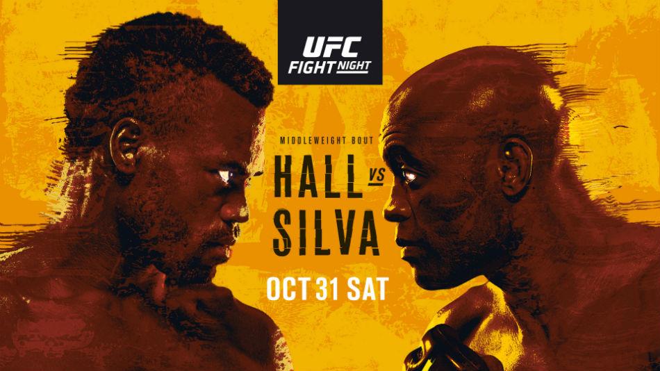 UFC Vegas 12 results - Hall vs. Silva
