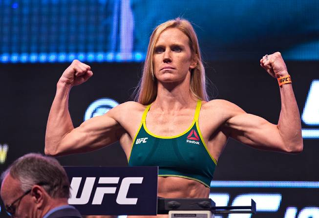 UFC Fight Island 4 weigh-in results - Holm vs. Aldana