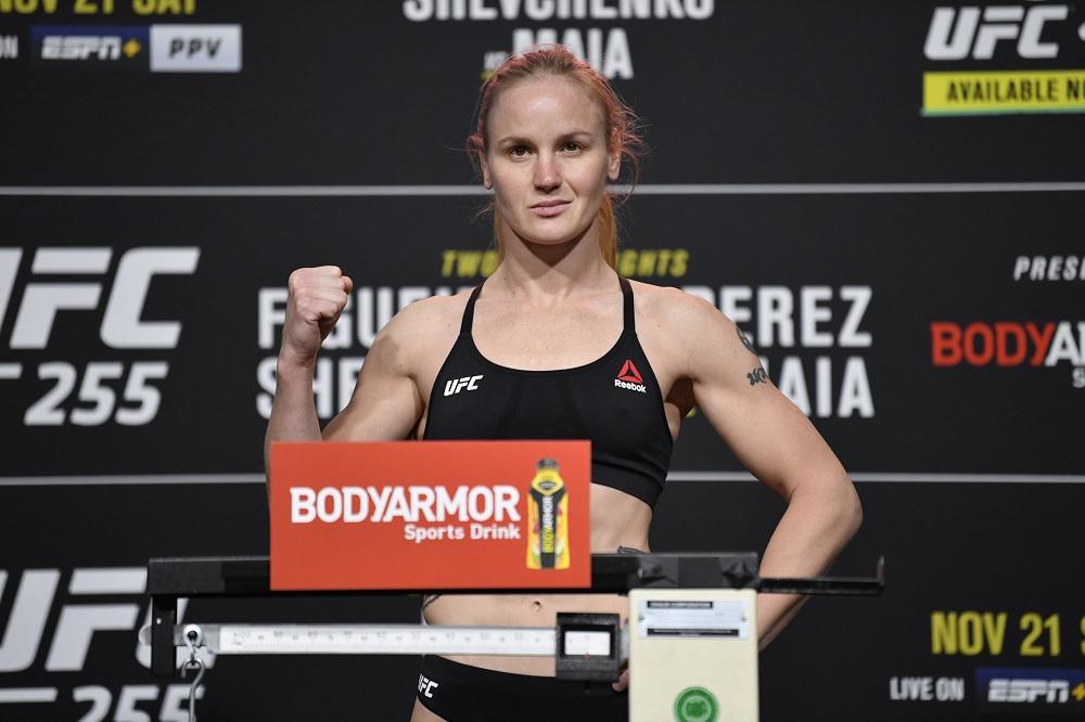 UFC 255, Valentina Shevchenko
