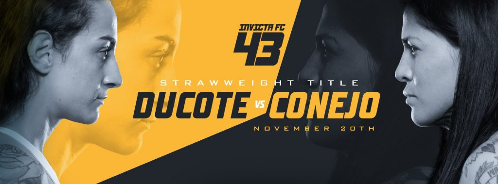 Invicta FC 43: Ducote vs. Ruiz Preview