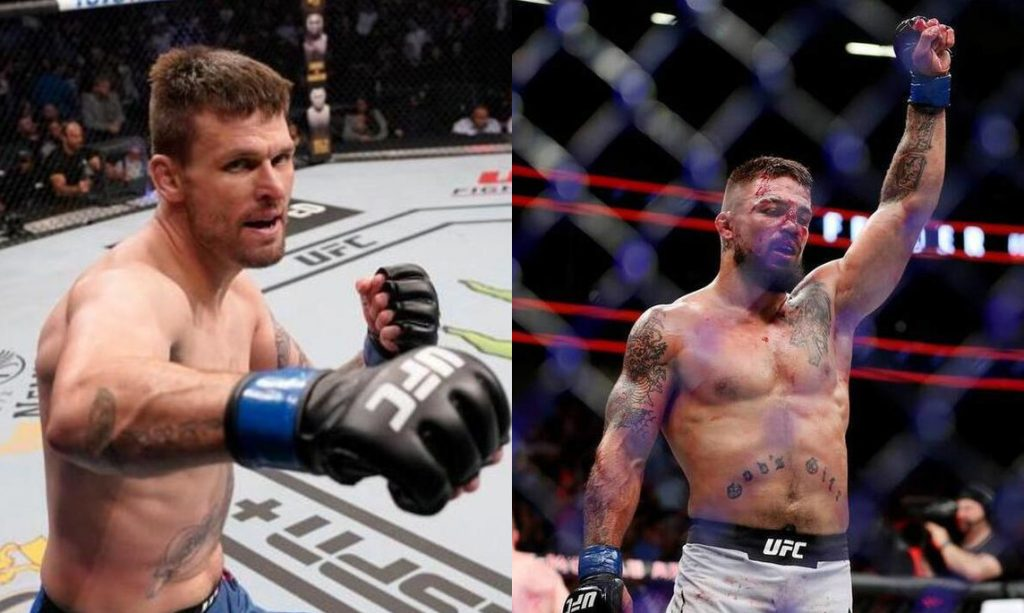 Tim Means, Mike Perry, UFC 255