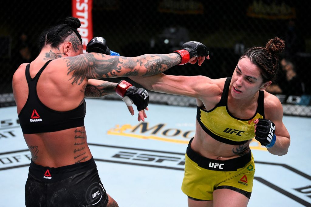 Norma Dumont picks Evans-Smith apart, secures first UFC win