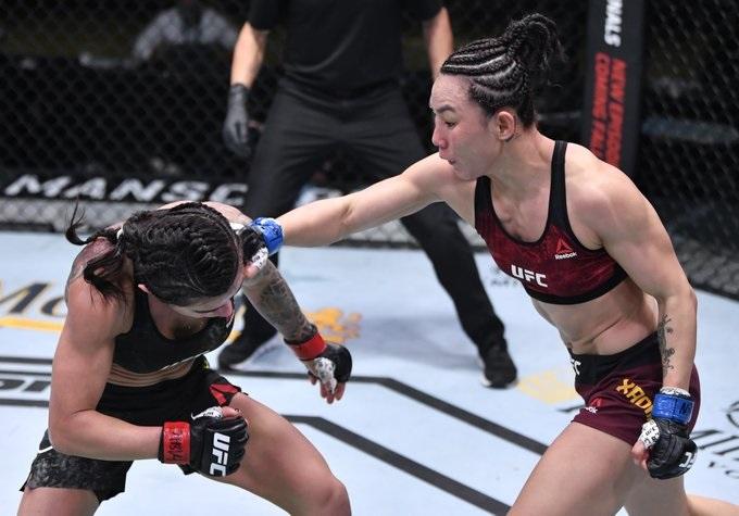 Yan Xiaonan outpoints Claudia Gadelha in Las Vegas
