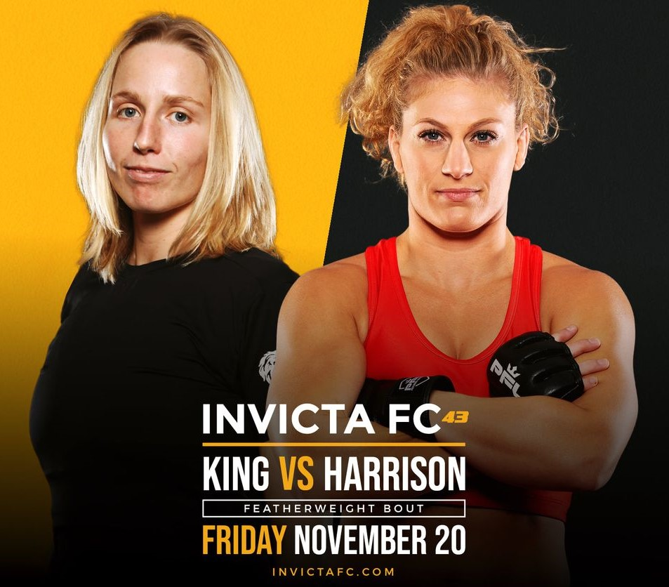 Invicta FC 43: King vs. Harrison Results