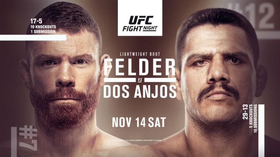 UFC Vegas 14 results - Dos Anjos vs. Felder