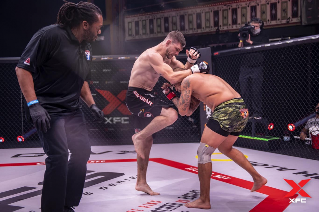 XFC 43 Review: Kurt Holobaugh Secures First Round Victory in XFC Lightweight Tournament