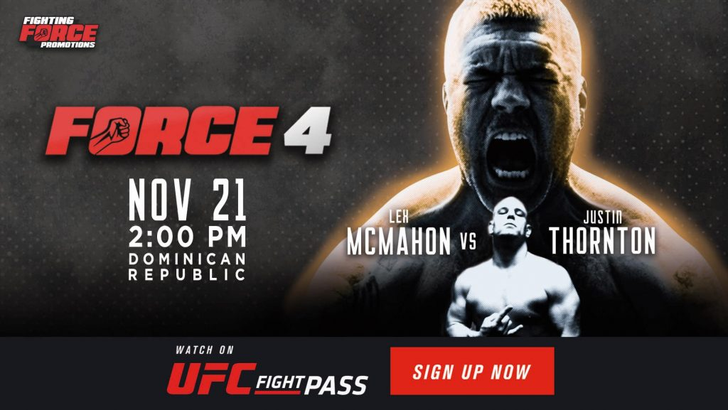 Fighting Force 4 results - McMahon vs. Thornton