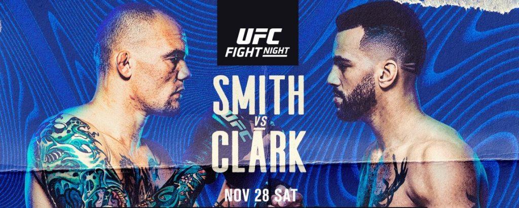 UFC Vegas 15 results - Clark vs. Smith