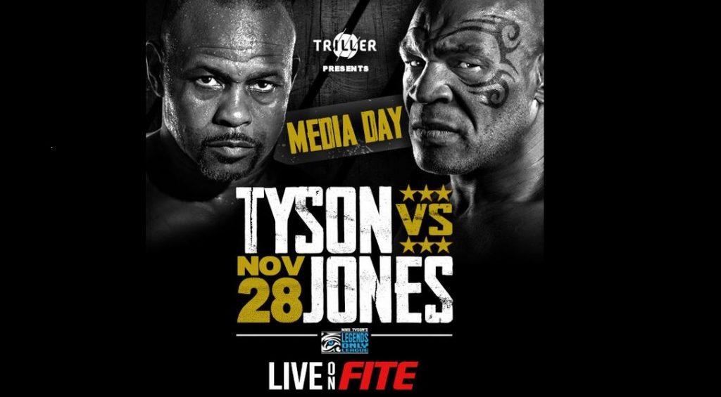 Mike Tyson vs Roy Jones Jr. Media Day - Live Stream