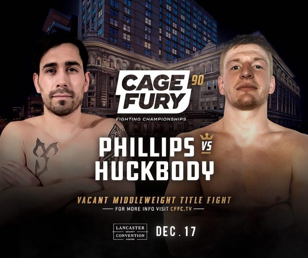 CFFC 90 results: Collin Huckbody vs. Aaron Phillips