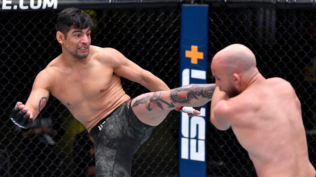 Gabriel Benitez stops Justin Jaynes with vicious knockout at UFC Vegas 16