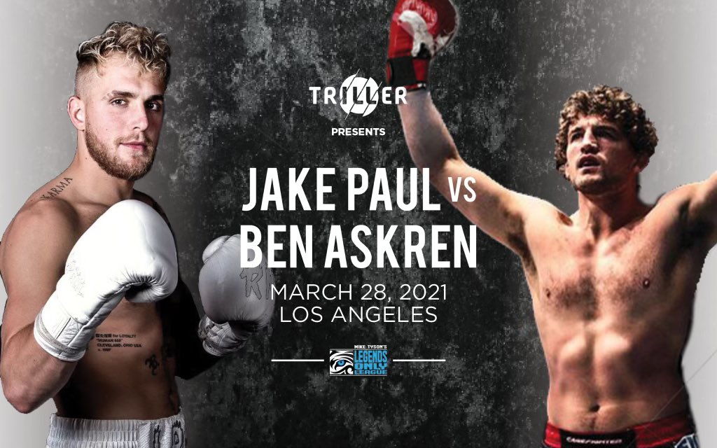 Jake Paul vs Ben Askren