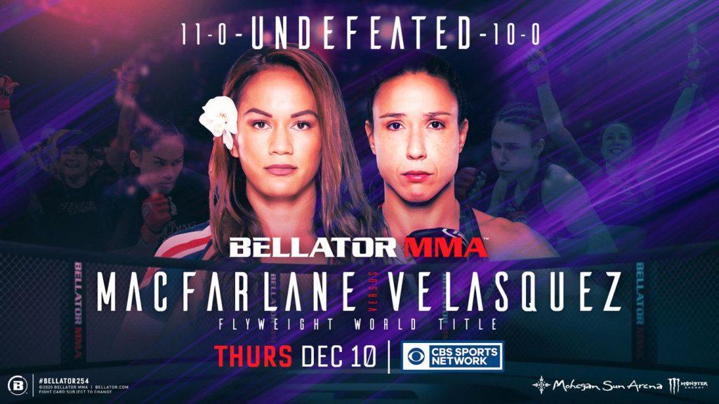 Bellator 254 results - Macfarlane vs. Velasquez