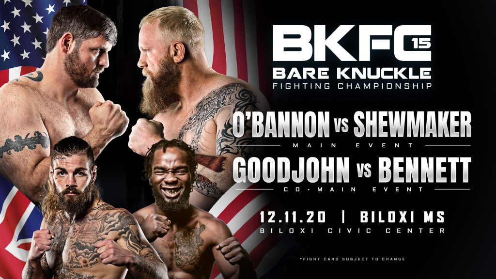 Bare Knuckle FC 15 Live Results - Order and watch - FREE PRELIMS
