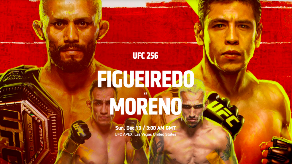 UFC 256 results - Figueiredo vs. Moreno for UFC flyweight title