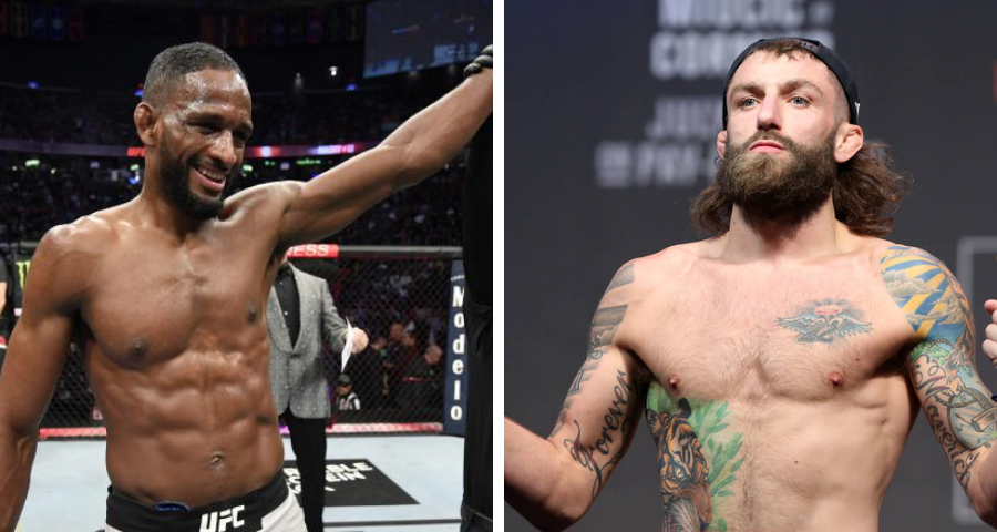 Neil Magny vs. Michael Chiesa verbally agree to fight on January 20