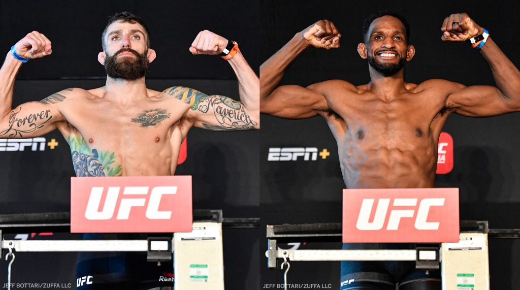 UFC Fight Island 8 weigh-in results - Chiesa vs. Magny