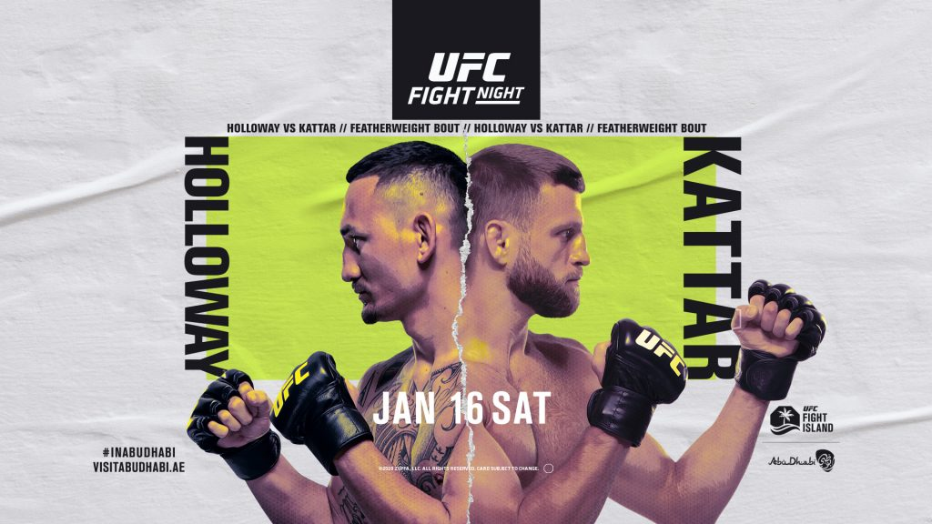 Holloway vs Kattar, UFC Fight Island 7
