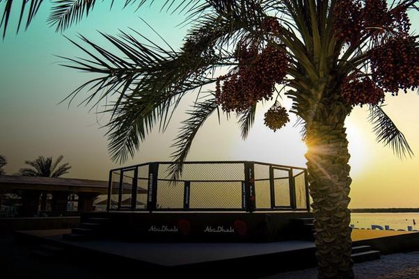 UFC Fight Island in January 2021