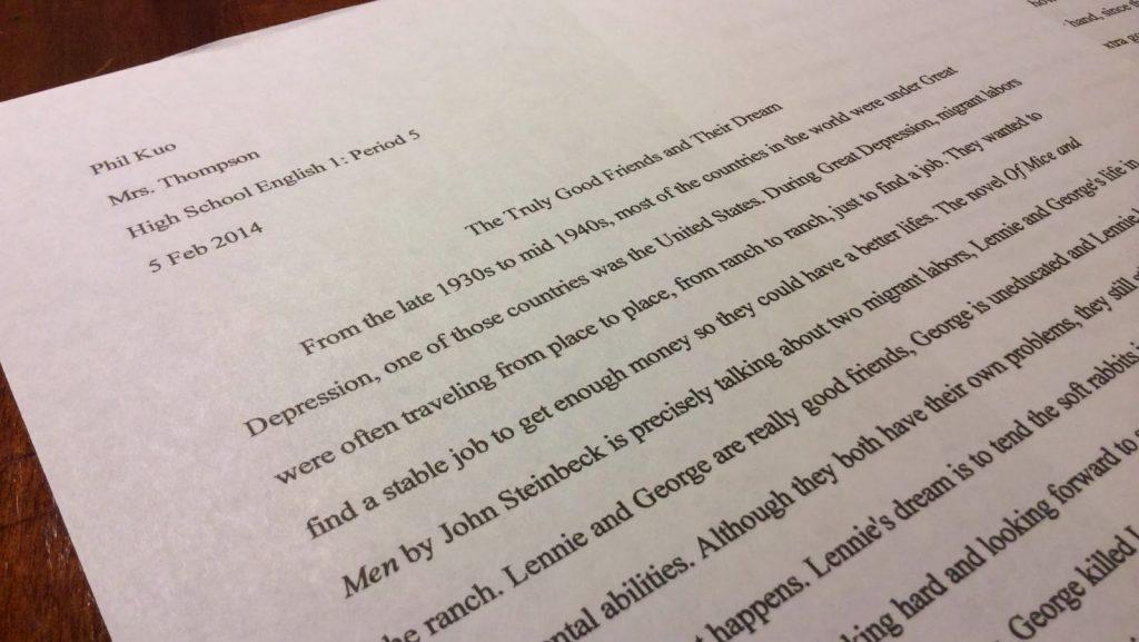 formal and informal essays