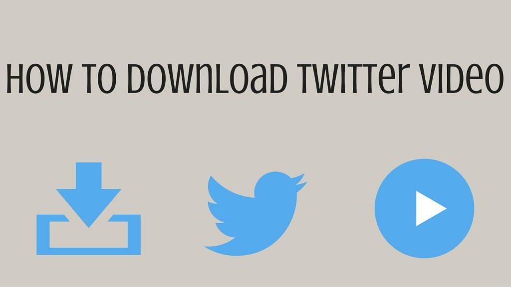 download twitter, download videos