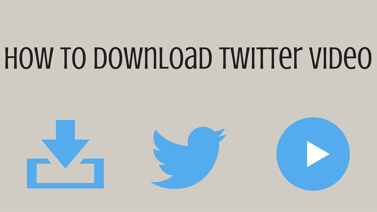 How to Download Twitter and Download Videos