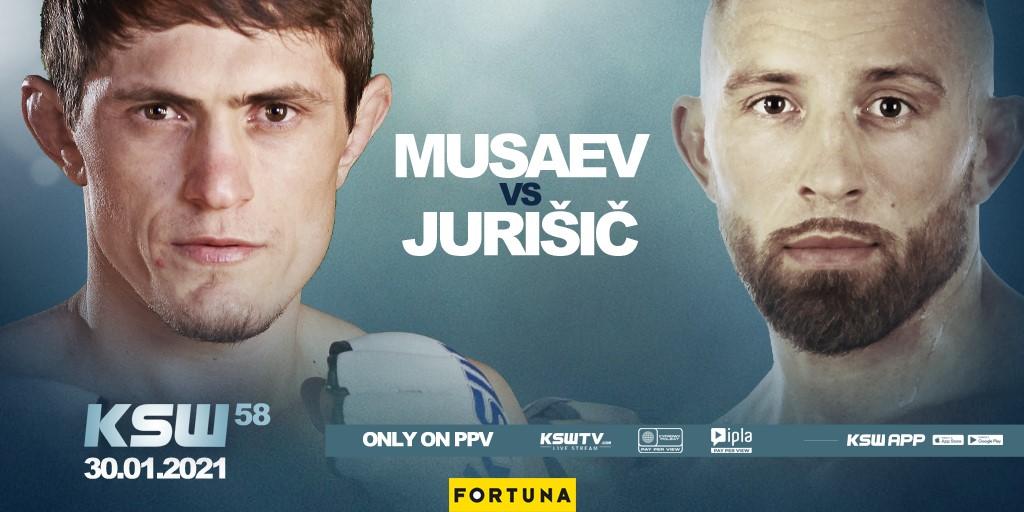 KSW 58: Uros Jurisic vs. Shamil Musaev Official