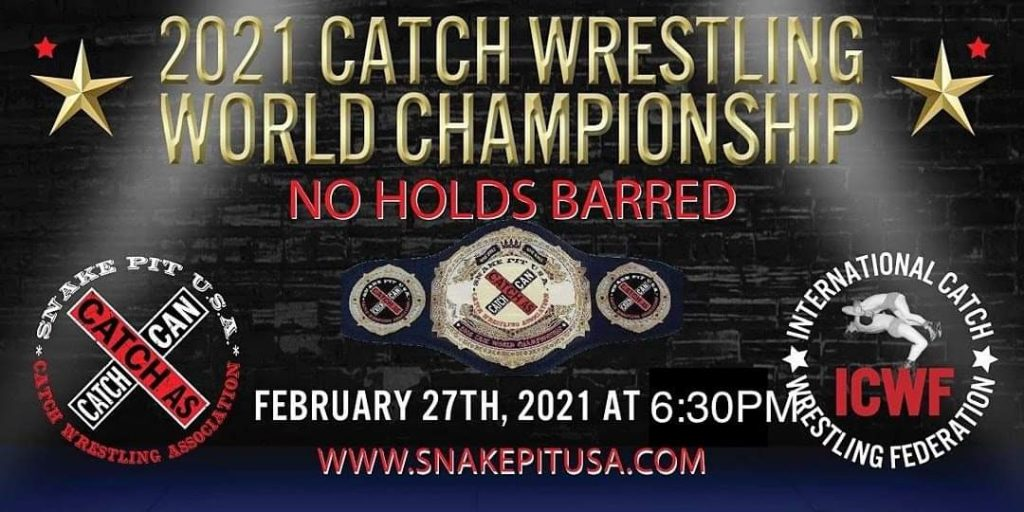 Snake Pit 2021 Catch Wrestling World Championship: Judgement Day Results