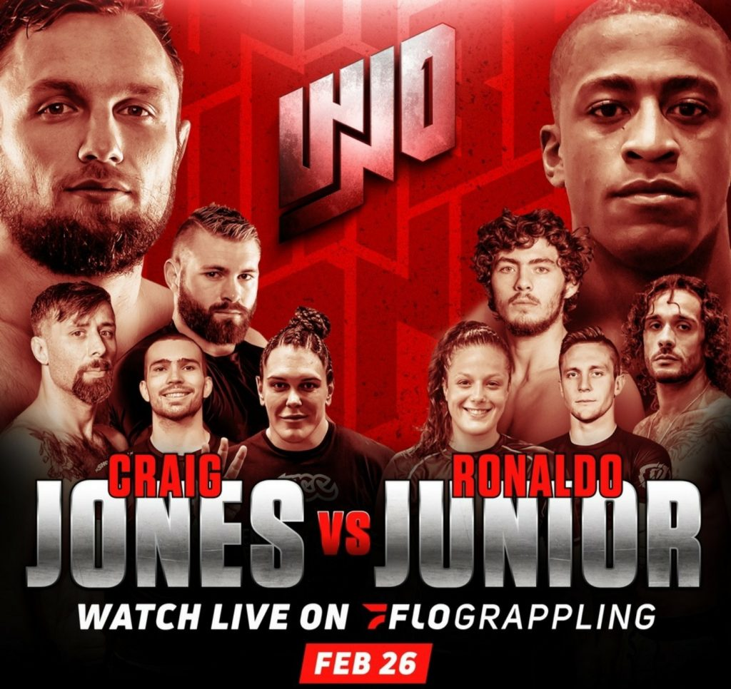 Who's Number One: Craig Jones vs. Ronaldo Junior Live Results