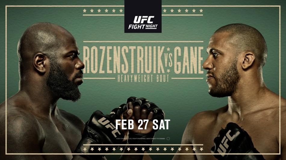 UFC Vegas 20, UFC Vegas 20 results