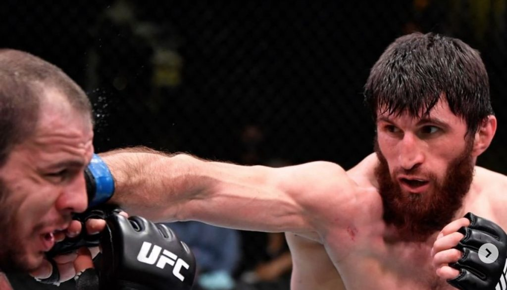 Magomed Ankalaev finishes strong to beat Nikita Krylov by unanimous decision