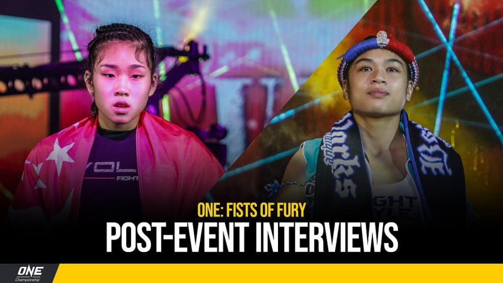 ONE: Fists of Fury Post-Event