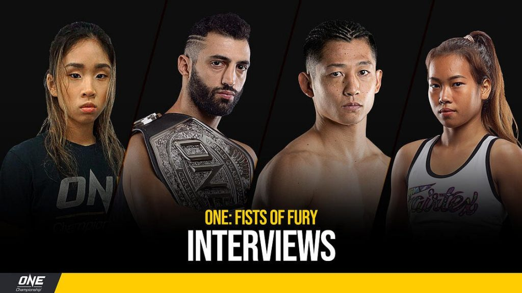 ONE: Fists of Fury interviews