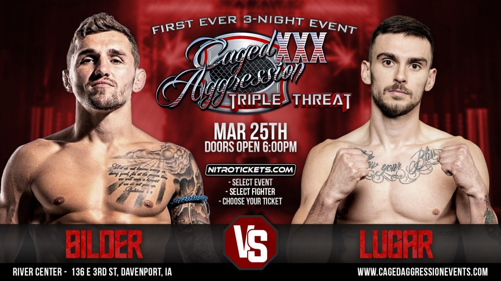 Blake Bilder expects to show off new version of himself At Caged Aggression 30