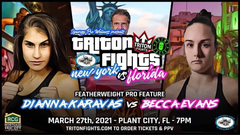 Triton Fights, Rebecca Evans