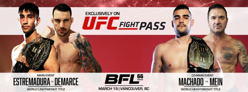 Battlefield Fight League to debut on UFC Fight Pass