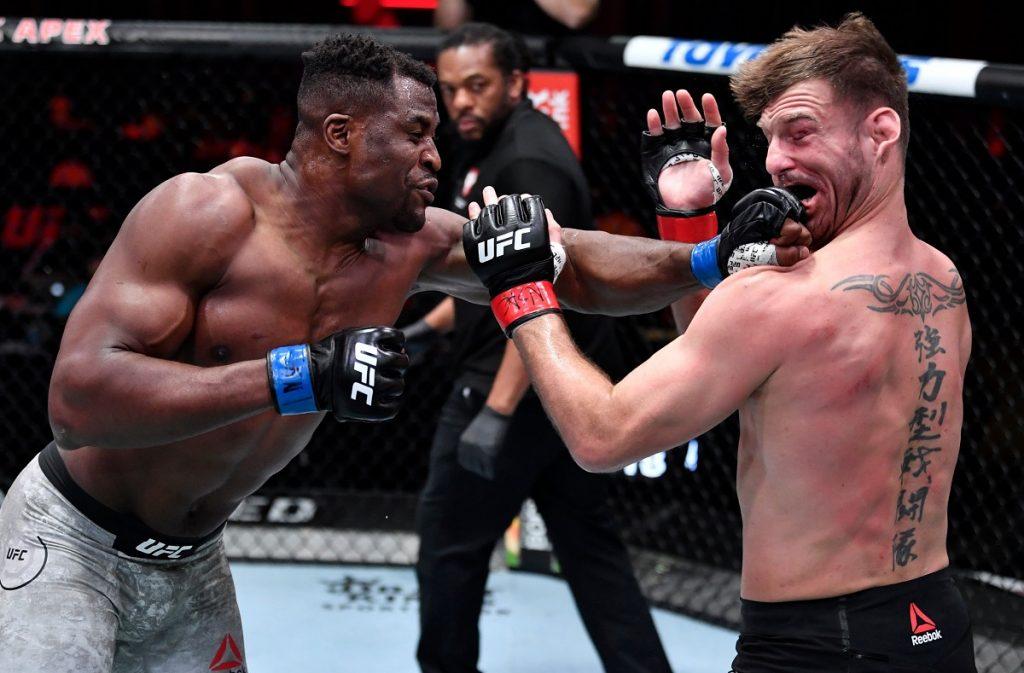 Francis Ngannou KO's Stipe Miocic At UFC 260, Becomes UFC Heavyweight Champion